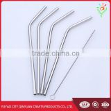 stainless steel straws wholesale, custom long stainless steel drinking straw                                                                         Quality Choice