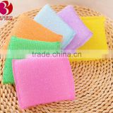 Hot Sale 2016 Scouring Pad kitchen mesh sponge                                                                         Quality Choice