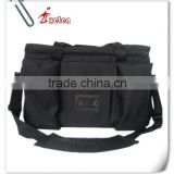 Black Police Multifunctional Equipment Canvas Tote Bag
