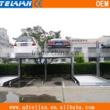made in China double levels parking garage,2 post car parking lift,auto parking equipment