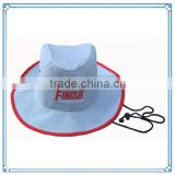 100% polyester custom bucket hat with string