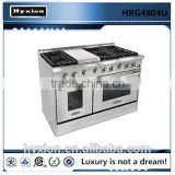 Hyxion professional gas cooking range used stainless steel appliances                                                                         Quality Choice