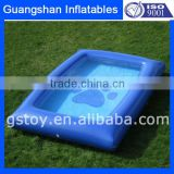 EN71 approved PVC Inflatable Dog Plastic Swimming Pools