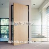 Modern Home Green Material Wood Texture Compact Hpl Panel Door Design                                                                         Quality Choice