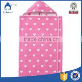China Wholesale Custom 100% Cotton Adults Hooded Poncho Towels