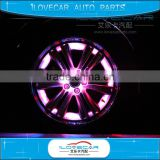 Universal Car Solar Energy Auto Car Flash Wheel Light , Color Waterproof Warning Lamp Decorative LED Wheel Light