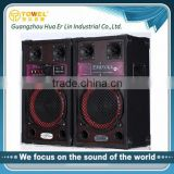 2.0 PA System Active Professional Karaoke Speaker With LED Lighting home theatre music