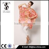 Latest Hot Selling poly chiffon printed beach wear wrap skirt                                                                         Quality Choice