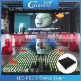 L500*W500*H82mm led interactive semi-outdoor design flash dance floor by led flash computer control system