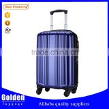 Girls cute travel trolley suitcase with TSA custom lock , Cheap ABS suitcase for wholesale