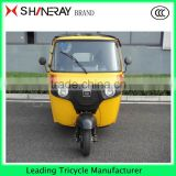 TAXI Passenger enclosed cabin tricycle / three 3 wheel bike motorcycle taxi                                                                         Quality Choice