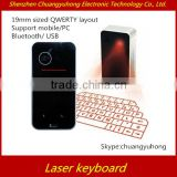 2014 hot selling mini wireless keyboard Virtual Laser Keyboard/magic cube wireless Virtual Laser Keyboard for Pad/PC/cell Phone