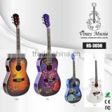 Good price wood guitar custom brand guitar guangzhou HS 3650