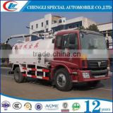 Foton 8000 litres sewage truck waste dust suction sewage suction tanker truck, vacuum sewage suction truck wtih hydraulic pump
