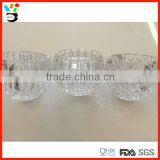 Art Design Brilliant Drinking Glass Tableware Different Pattern Available Crystal Ball Glass Cup