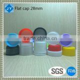 28mm wholesale PP plastic screw mineral water bottle caps lid for ink,water container,toiletries,olive oil