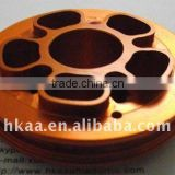 OEM CNC aluminum anodized valve body,Brass/bronze stainless steel steel industrial special value body