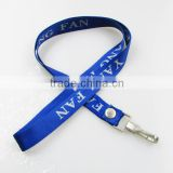 shenzhen factory cheap wholesale single custom lanyards with brand name