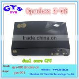OPENBOX S- V8 Digital Satellite Receiver S V8 S-V8 Support WEBTV Biss Key 2x USB Slot USB Wifi 3G Youtube Youporn CCCAMD NEWCAMD
