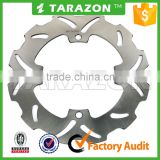 Motorcycle parts stainless steel Rear solid brake disc rotor for SUZUKI RMZ 250