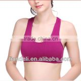 Hot sale sexy ladies sports underwear bra model photos