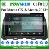 "Funwin Android 4.4.2 navigation system 10.1"" double din for Mazda Atenza autoradio car dvd gps car stereo tv tuner"