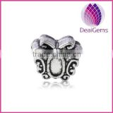 wholesale alloy butterfly spacer beads 12*10mm for jewerly findings