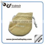 wholesale fabric pouch bags including cotton drawstring bags, jute and muslin bags, and burlap pouches
