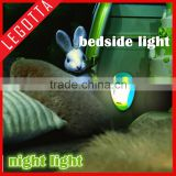 Invention fancy baby and kids sleeping dark night light lamp sensor led light gift for children