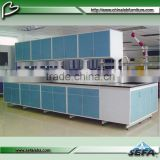 C-Frame all steel structure dental chemistry laboratory nitric acid resistant work bench