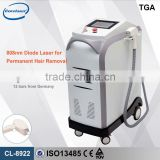 Home 808nm Laser Hair Removal Machine Diode Lip Hair Laser For Salon With Permanent Results
