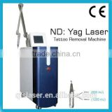 vertical beauty machine Nd yag tattoo remover /removal set to make skin rejuvenation