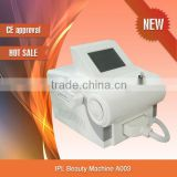 best home using Dark&thick hair,light-colored&soft hair removal IPL beauty machine for sale-A003