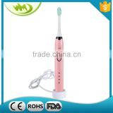 Small Round Head Color Changing Soft Bristle Kids and Adult Toothbrush with Tongue Cleaner