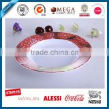 double color melamine fruit plate, long time sex spray