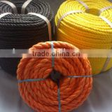 Twisted rope Type fishing rope PP danline rope