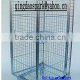Nestable Galvanized Roll cart for EUR