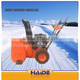 CE Certification and Petrol / Gas Power Type Snow Thrower,snow blower cleaning machine HD6522L