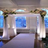Rk Pipe&Drape for Wedding, Upright and Crossbar for Event