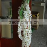 dry vine bulk silk long flower vine wedding party decoration pure white vine
