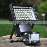 Super-bright 60 LED solar security light & motion light & PIR sensor light