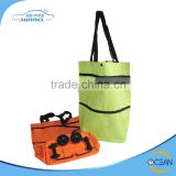 Light Weight Convenient Foldable Leaves King Trolley Travel Bag With Chair