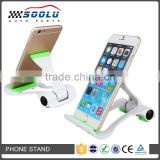Universal plastic mobile phone holder for smartphone and tablet PC