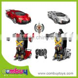 New style remote control car deformation rc flying robot toy