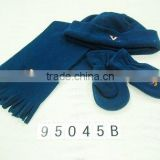fleece glove,hat,scarf
