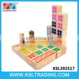 Nice design game building blocks wooden educational toys