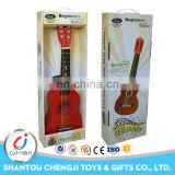 Educational music toys colorful mini small wood guitar