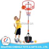 Kids indoor outdoor sports toys adjustable plastic basketball stand portable
