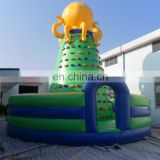 Big inflatable sports games climbing wall climbing equipment for sale