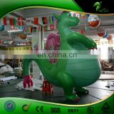 Greet Fat Inflatable Dragon Sex Toy / Hongyi Inflatable Animal With SPH Sey Dragon